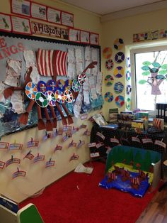 KS2 Vikings Class Displays, School Displays, Classroom Displays, Vikings Ks2, Ks2 Display, Ks2 Classroom, Viking Decor, Viking Baby, Magic Garden