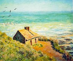 """Claude Monet The Custom House, Morning Effect, 1882, oil on canvas. """"I know that to paint the sea really well, you need to look at it every hour of every day in the same place so that you can understand its way in that particular spot; and that is..."""