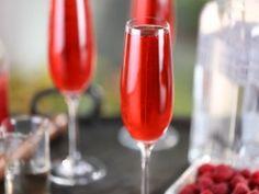 La Vie En Rose Champagne Cocktail : Recipes : Cooking Channel