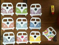 VW Van Door Decs; Visit theresidentassistant.wordpress.com for more door decs, bulletin boards, and other housing/residence life things!
