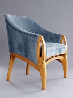 diplomat s chair graf kessler adelta henry van de velde spf franziska henry van de velde. Black Bedroom Furniture Sets. Home Design Ideas
