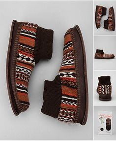 MUK LUKS Fair Isle Slipper $28 available at Urban Outfitters