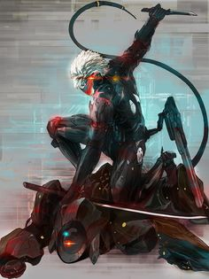 Metal Gear Rising: Revengeance - Lxy67626787 - Raiden