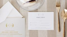 You'll Love These Minimalist Wedding Invites That Prove Less Is More | StyleCaster