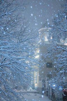 Pin by ana pimentel torpes on winter wonderland зимний снег, Winter Szenen, I Love Winter, Winter Magic, Winter Christmas, Winter Night, Snow Night, Merry Christmas, I Love Snow, Snowy Day