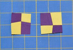Inspired by Fabric: FourPatch Parade Tutorial