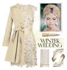 """""""True Romance: Winter Wedding"""" by theseapearl ❤ liked on Polyvore featuring beauty, Steve Madden, Jimmy Choo, Dolce&Gabbana, nudelip and winterwedding"""