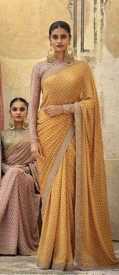 Sabyasachi Mukherjee : Winter Collection Photo by Tarun Khiwal. Sabyasachi Sarees, Lehenga Choli, Anarkali, Silk Sarees, Indian Dresses, Indian Outfits, Indian Attire, Indian Wear, Saree Trends