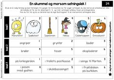 2. trinn – Begynneropplæring med Runar Vikings, Literacy, Language, Classroom, Activities, Education, Halloween, Reading, School
