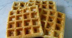 Nem csak édes, hanem sós gofri is létezik. :) És az is nagyon finom. Ez olyasmi, mint a spagetti torta : ha valakinek azt mondjuk, hogy gofr... Spagetti, Waffles, Breakfast, Food, Morning Coffee, Waffle, Meals, Yemek, Eten