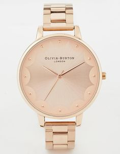 Olivia burton scallop edge watch £95