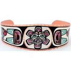 Native Sunface Colourful NW Native Bracelet