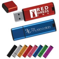 Pen drives can be customised and branded.