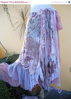 SALEJOJOSALE vintage inspired extra shabby wrap by wildskin, $124.00