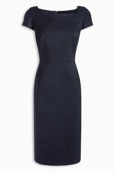 Buy Navy Tailored Dress from the Next UK online shop