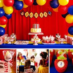 Southern Blue Celebrations: Snow White Party Ideas