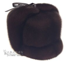 129.99$  Buy now - http://alicr0.worldwells.pw/go.php?t=32393190900 - 2015 fashion Oversized Adult Men Casual Solid Whole Leather High Mink Hat Old Man Winter Fur Peaked cap Hat Russion Fur Hats  129.99$