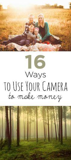 Make money, easy ways to make money, money making hacks, popular pin, camera jobs, make money with your camera.