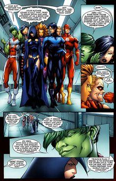Teen Titans. Poor Raven :( Love you!