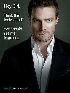 "stephen amell meme | CW's ARROW ""HEY GIRL…"" Ad's 