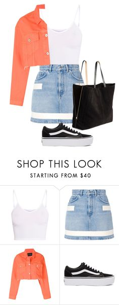 """Vans"" by thefashionguilty on Polyvore featuring moda, BasicGrey, Givenchy, Heron Preston, Vans y H&M"