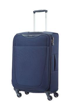 Base Hits Navy Blue 66cm Spinner #Samsonite #BaseHits #Travel #Suitcase #Luggage #Strong #Lightweight #MySamsonite #ByYourSide
