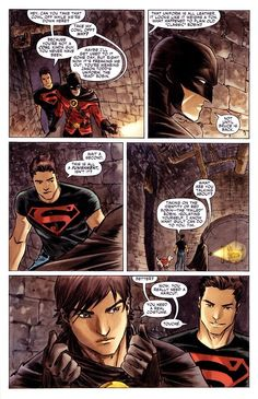 Superboy and Robin. Cool dudes. I love them.