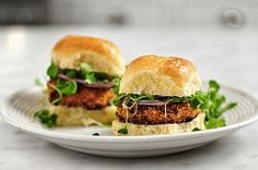 Could be fun to try going vegetarian or vegan for 1 week ...Sweet Potato Burgers sound good!