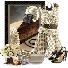 Yes, Cheesecake! by justjules2332 on Polyvore