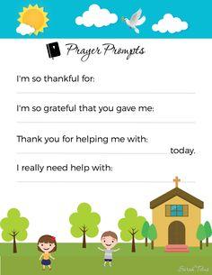 How to Start a Kid's Prayer Journal
