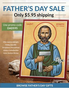 Great Gifts for Father's Day: Monastery Icons
