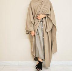 Winter Abaya by Epiphany Dubai IG: Epiphany.dubai
