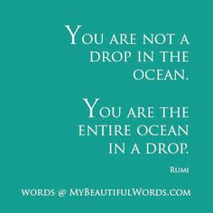 My Beautiful Words.: You are the Ocean...