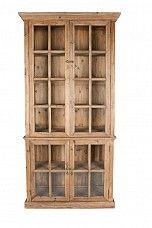 Narrow Glass Vitrine – 105cms wide Beach House Decor, Trade Secret, Cabinet, Bookcase, House Styles, Home Decor, Reclaimed Pine, Glass