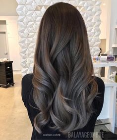 Ash brown hair, hair color for brown skin, hair highlights, hair color balayage Brown Ombre Hair, Ombre Hair Color, Grey Ombre, Soft Brown Hair, Subtle Ombre, Brown Blonde, Brown Skin, Hair Colour, Hair Inspo