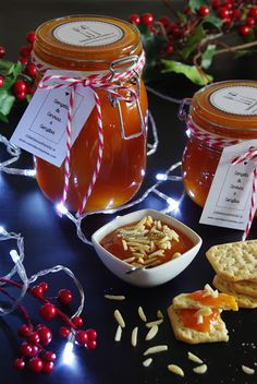 Mimo de Natal | Compota de Cenoura e Gengibre Chutney, Antipasto, Kiwi, Salsa, Portuguese Recipes, Cookbook Recipes, Kraut, Holidays And Events, Homemade Gifts