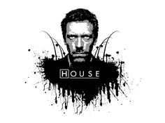 House MD - black and white by Melwasul.deviantart.com on @deviantART