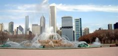Clarence F. Buckingham Memorial Fountain:    The memorial fountain was opened to the public in 1927 in memory of Clarence Bukingham. It is one of the great historic landmarks in Chicago located at the heart of Grant Park. It's considered one of the biggest fountain in the entire world.
