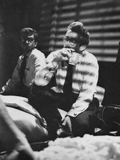 James Dean and coffee
