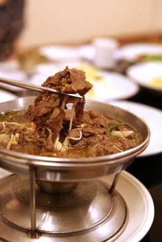 한정식에 빠질 수 없는 부드러운 불고기!! < bulgogi > - SANNERI traditional korean restaurant in insadong,seoul,korea
