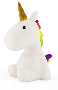 Unicorn Night light White/Rainbow Multicolor LED, Children Night lamp, Baby Nursery Lamp Bedroom light.