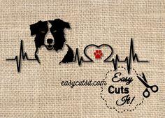 Free Border Collie Heartbeat