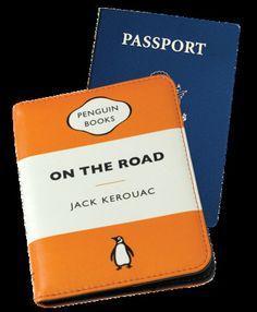 Penguin Passport Case: On the Road (Orange)