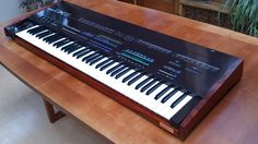 MATRIXSYNTH: Yamaha DX-5 with African Zebra Wood