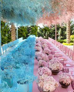 """LEBANESE WEDDINGS on Instagram: """"Starting our week with this beautiful inspiration from last week's gender reveal setting 💙💗 Tag someone who's expecting !…"""" Girl Birthday Decorations, Gender Reveal Party Decorations, Baby Gender Reveal Party, Baby Shower Deco, Pop Baby Showers, Baby Shower Balloons, Simple Gender Reveal, Wedding Table Setup, Lebanese Wedding"""