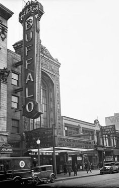 Shea's Buffalo Theatre, Buffalo, NY -- 1930 (by Brad Smith, via Flickr)
