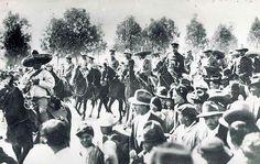 Zapata y Villa entran a México el 06 de diciembre de 1914.
