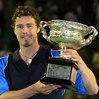 Marat Safin, Australian Open 2005. So wanted him to win, and so surprised when he did!