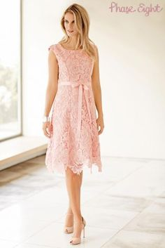 Image result for blush lace dress with sleeves