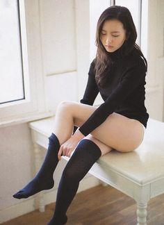 "HKT48 Madoka Moriyasu ""Hanbun Otona 16sai"" on Friday Magazine"